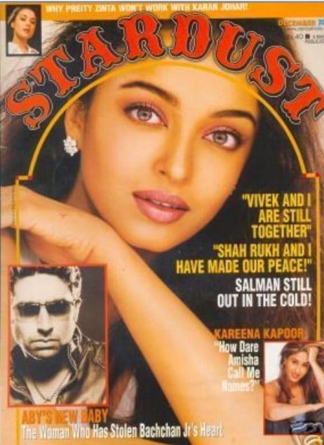 Aishwarya Rai on Stardust Magazine