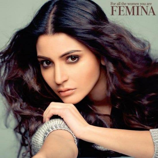 Anushka Sharma on Femina Magazine