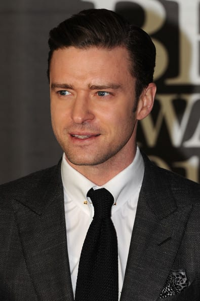 Justin Timberlake Spotted at the Brit Awards in London