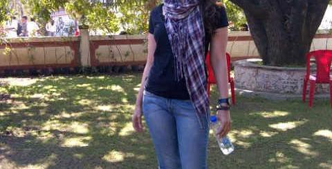 Kareena Kapoor Spotted on the Sets on Satyagraha