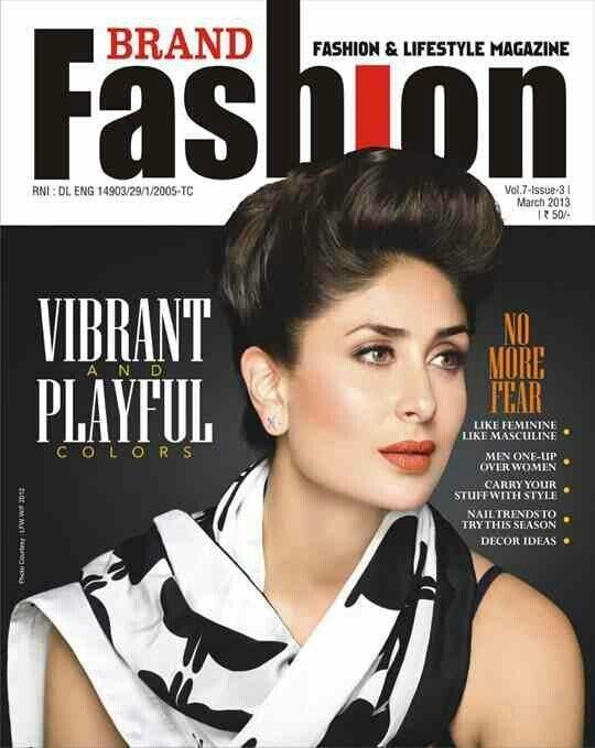 Kareena Kapoor on Brand Fashion Magazine