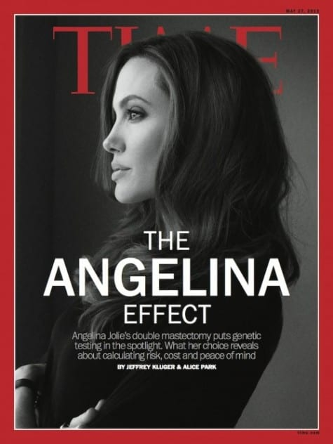 Angelina Jolie on Time Magazine