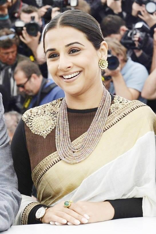 Vidya Balan at the Jury Photocall in Cannes