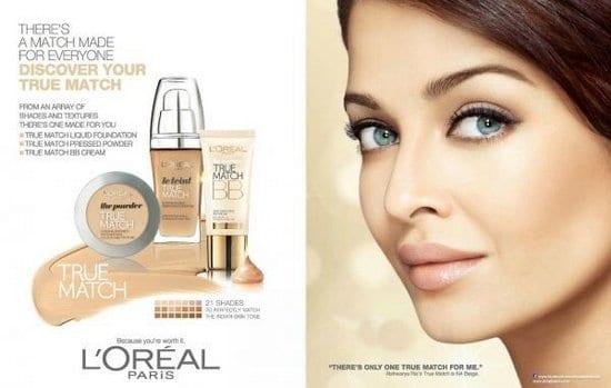 Aishwarya Rai Bachchan in a new L'Oreal Ad