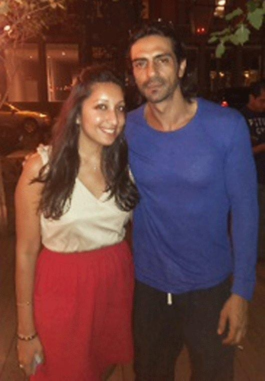 Arjun Rampal and Hrithik Roshan Spotted in New York