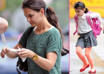 Katie Holmes and Suri Cruise Spotted in NYC