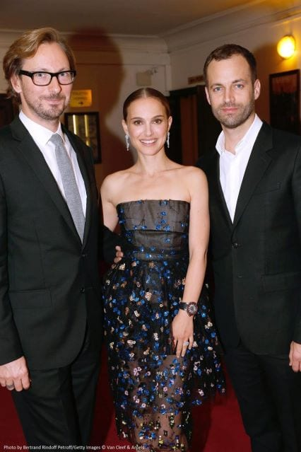 Natalie Porman and Benjamin Millepied Spotted at the LA Dance Project premiere in Paris