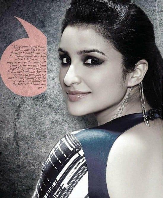 Parineeti Chopra in ANDpersand Magazine