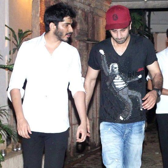 Ranbir Kapoor, Harsh at Arjun Kapoor's Birthday Party