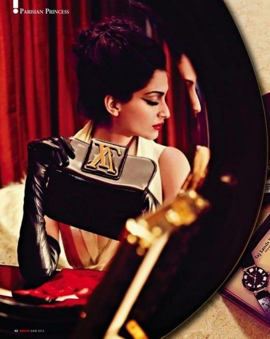 Sonam Kapoor in Hello Magazine
