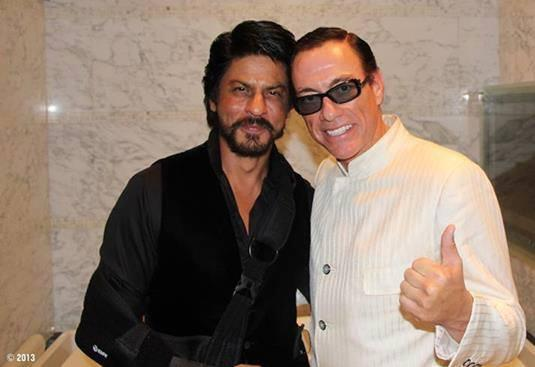 Shah Rukh Khan Spotted with Jean-Claude Van Damme