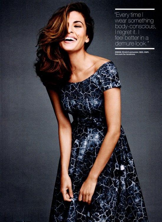 Eva Mendes on Lucky Magazine