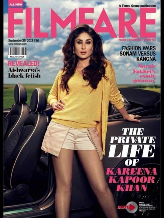 Kareena Kapoor on Filmfare Magazine
