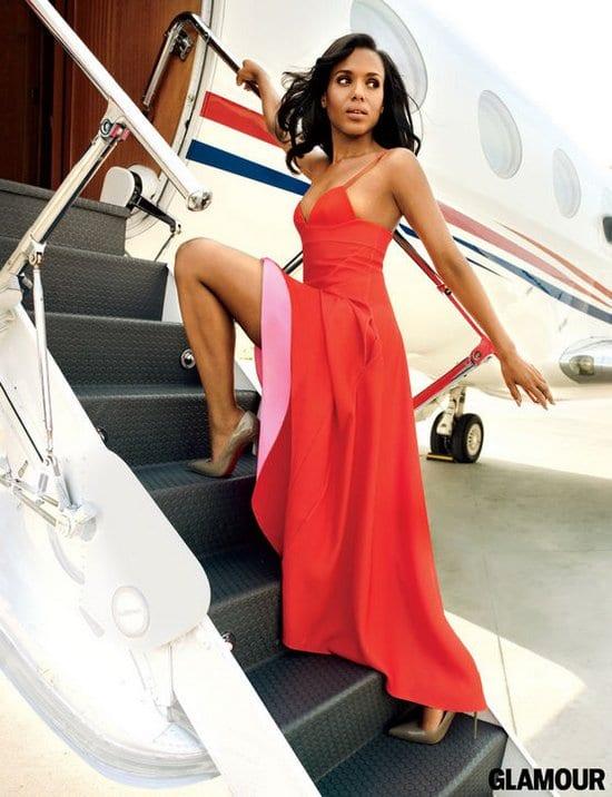 Kerry Washington on Glamour Magazine