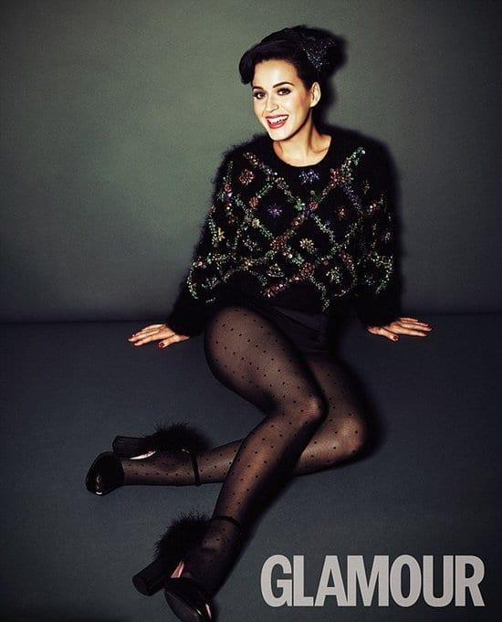 Katy Perry on Glamour Magazine