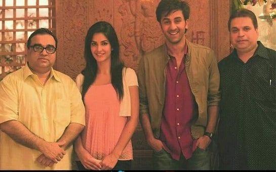 Katrina Kaif Spotted with Ranbir Kapoor on the sets of Ajab Prem Ki Gazab Kahani