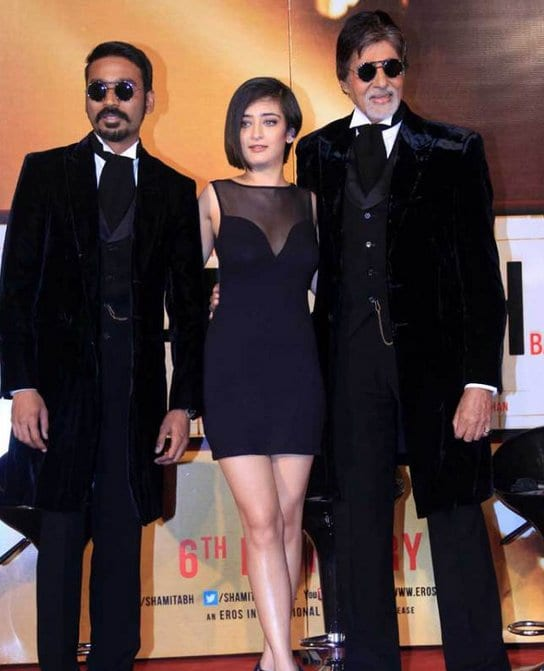 Akshara Haasan talks about Shamitabh
