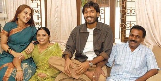 dhanush father