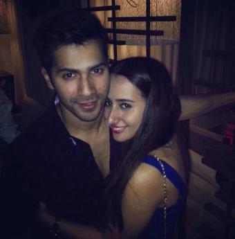 Varun Dhawan Spotted with his Girlfriend Natasha Dalal