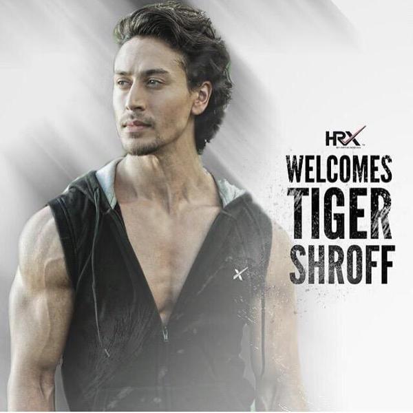 Tiger Shroff is the BranAmbassador of Hrithik Roshan's HRX