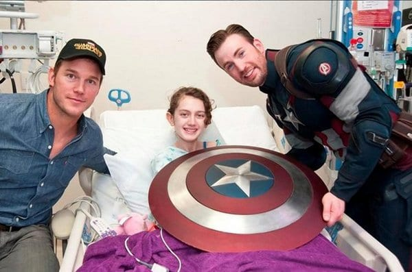 10 Hollywood Stars That Care About Sick Children