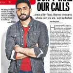 When the going gets tough, Abhishek Bachchan gets emotional