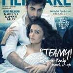 Aishwarya Rai Bachchan and Ranbir Kapoor on Filmfare Magazine