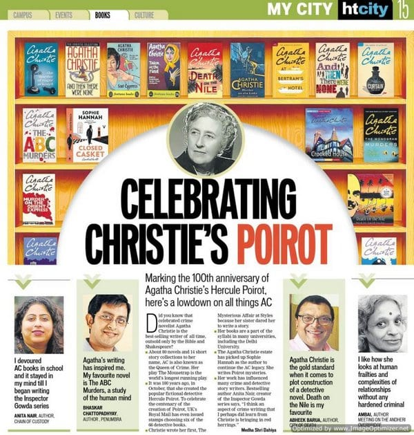 Celebrating Agatha Christie's Poirot