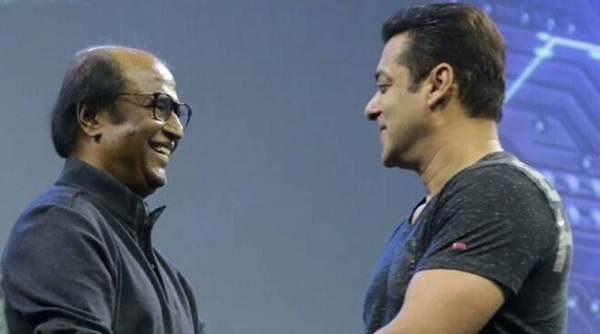 Salman Khan thinks Rajinikanth is the most amazing person he has ever met