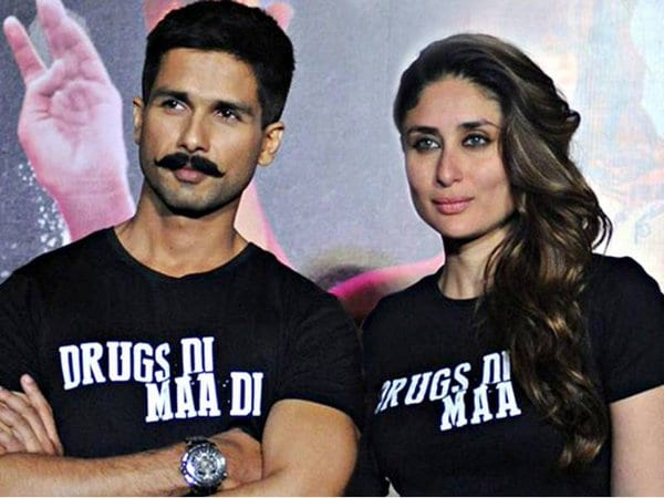 Shahid Kapoor says he's happy to see Kareena Kapoor pregnant