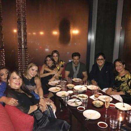 Hrithik Roshan, Sussanne Khan and their Sons spotted in Dubai