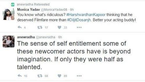 Words of War - Harshvardhan Kapoor & Filmfare