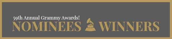 Adele, Beyoncé, Drake, Solange and Chance the Rapper are Grammy Awards 2017 Winners