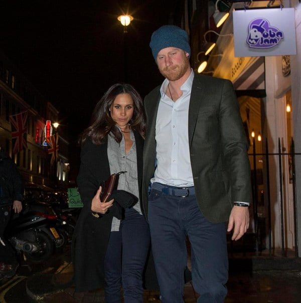 Prince Harry and Meghan Markle Spotted Together in London