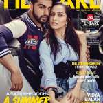 Arjun Kapoor and Shraddha Kapoor on Filmfare Magazine