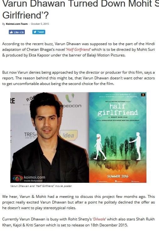 Bollywood Blind Item – May 2017 6