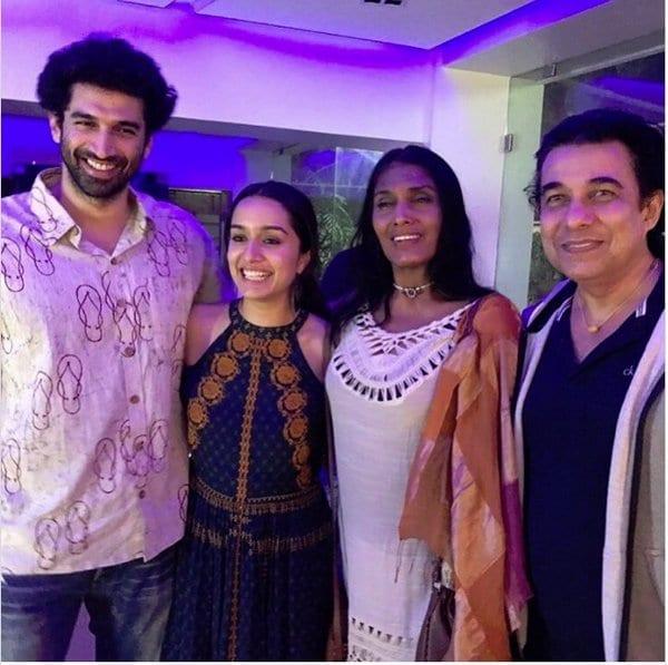 The stars of Aashiqui: Anu Agarwal, Shraddha Kapoor and Aditya Roy Kapoor