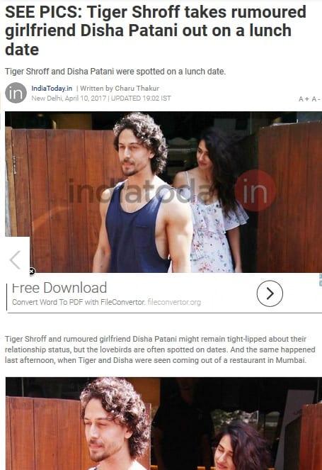 June 2017 – Bollywood Blind Item 4