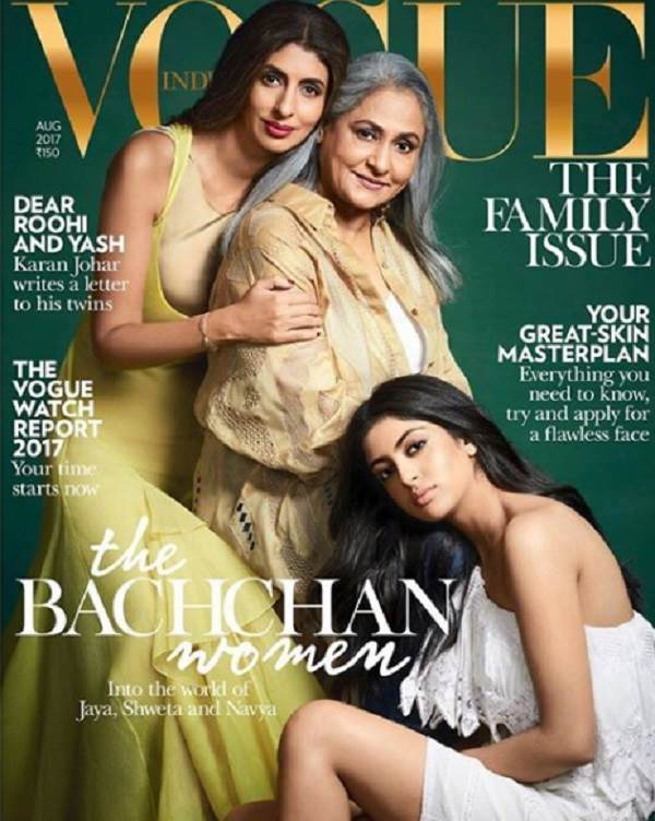 The Bachchan ladies on GQ magazine