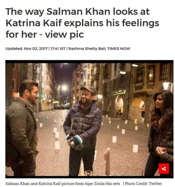 Blind Item – November - Bollywood - 2017
