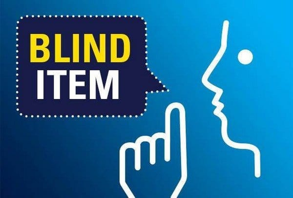 Blind Item – 2017 - Bollywood - December 7