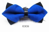 Dual Color Pointed Bow Tie - OneSimpleGown.com