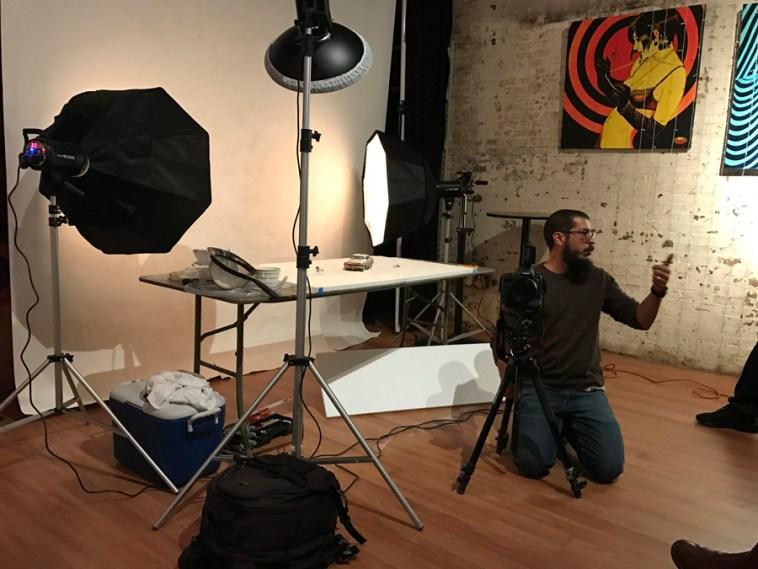 Workshop with Felix Hernandez