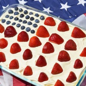 strawberry pop cake