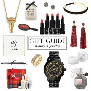 beauty and jewelry gifts