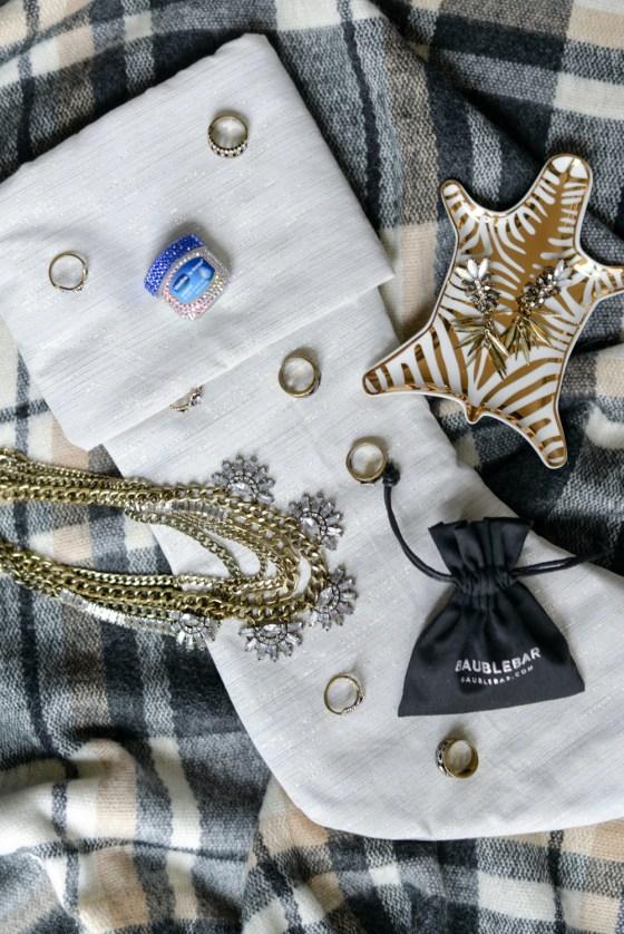 bejeweled baublebar vaseline jar-bauble bar gold stack rings-stocking stuffer gifts