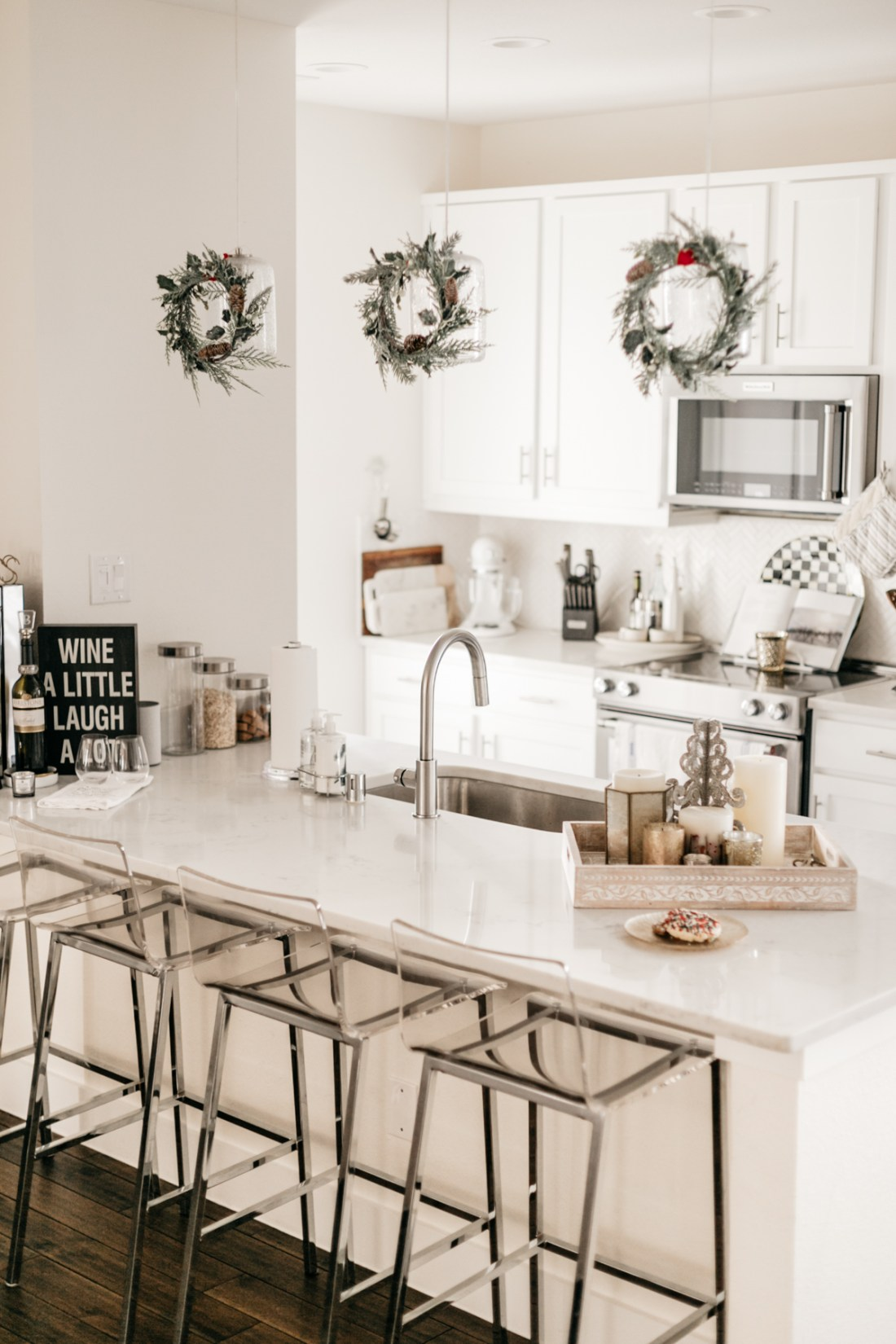 Christmas Holiday Home Decor - Kitchen