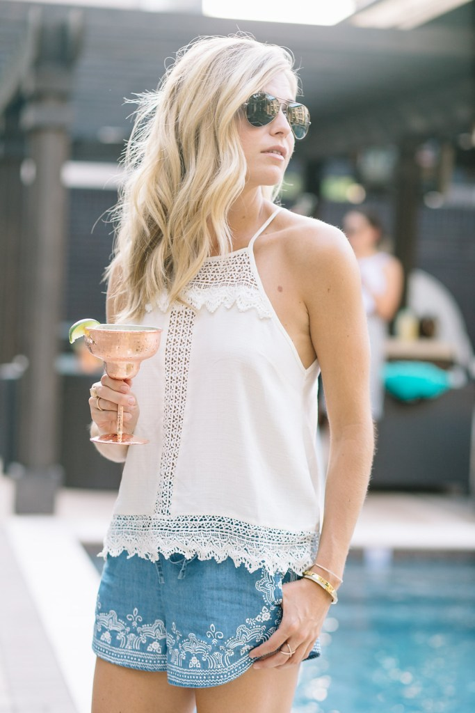 summer pool party outfit - summer outfit - summer shirt short set - summer outfit inspiration