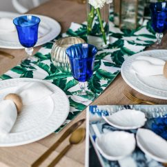 Navy Blue Accent Chairs Dining Room Sets 6 Summer Table Decor | Aerin Lauder X Williams Sonoma