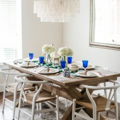 Hot Pink Chairs Great Windsor Summer Dining Table Decor   Aerin Lauder X Williams Sonoma